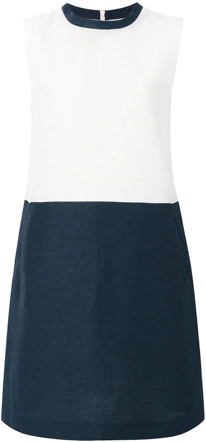'S Max Mara combined two-tone dress