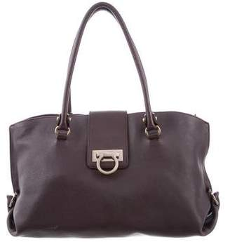 Salvatore Ferragamo Sophia Leather Shoulder Bag