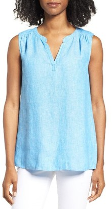 Women's Vineyard Vines Chambray Linen Top $78 thestylecure.com