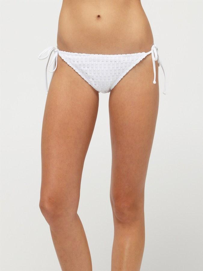 Roxy Sweet Terrain Brazilian String Bikini Bottoms