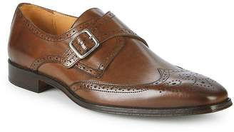 Saks Fifth Avenue Made in Italy Men's Leather Monk Strap Brogues