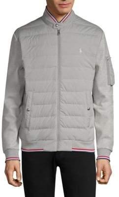 Polo Ralph Lauren Quilted Tech Bomber Jacket