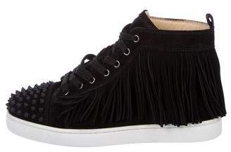 Christian Louboutin Coachelito Spike Flat Sneakers w/ Tags