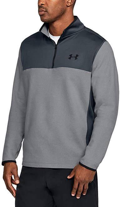 Graphite ColdGear® Infrared Fleece Quarter-Zip - Men, Big & Tall