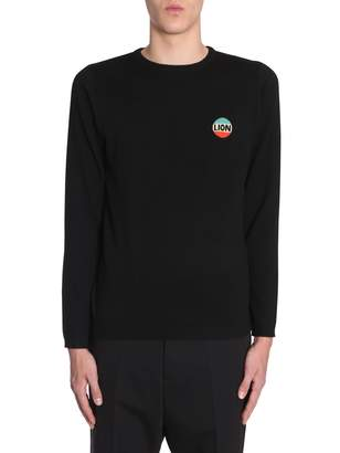 Bella Freud Sweater With Lion Emblem
