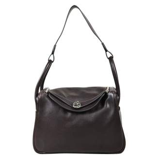 Hermes Lindy leather handbag