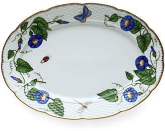 Anna Weatherley Morning Glory Oval Platter