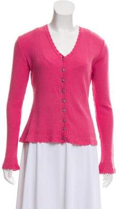 Christian Dior Lightweight Knit Cardigan