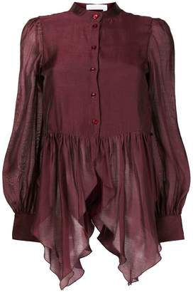 See by Chloe flared long sleeved blouse