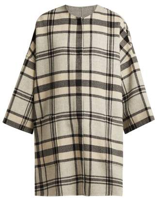 Max Mara Gigante Coat - Womens - Grey Multi