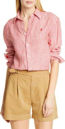 Polo Ralph Lauren Stripe Linen Shirt