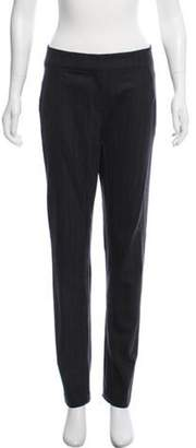 Gunex Mid-Rise Wool Pants Grey Mid-Rise Wool Pants
