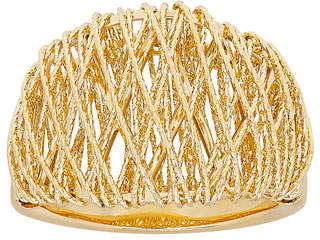 Milani Alberto 18K Gold Domed Mesh Ring
