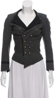Balenciaga Wool Zip-Up Jacket