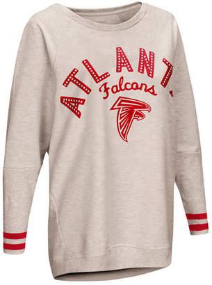 Touch by Alyssa Milano Women Atlanta Falcons Backfield Long Sleeve Top