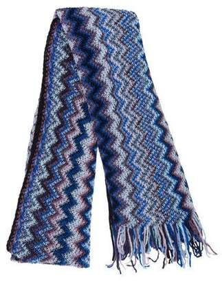 Missoni Chevron Knit Shawl