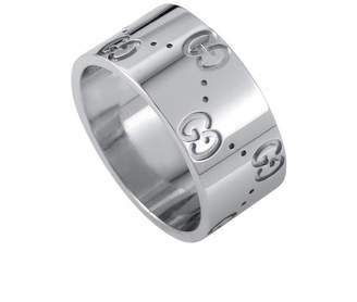 Bulgari Heritage Gucci 18K White Gold Ring