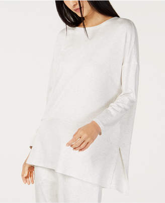 Eileen Fisher Tencel® Ballet-Neck Oversized Tunic