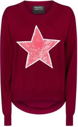 Markus Lupfer Embellished Joey Star Sweater