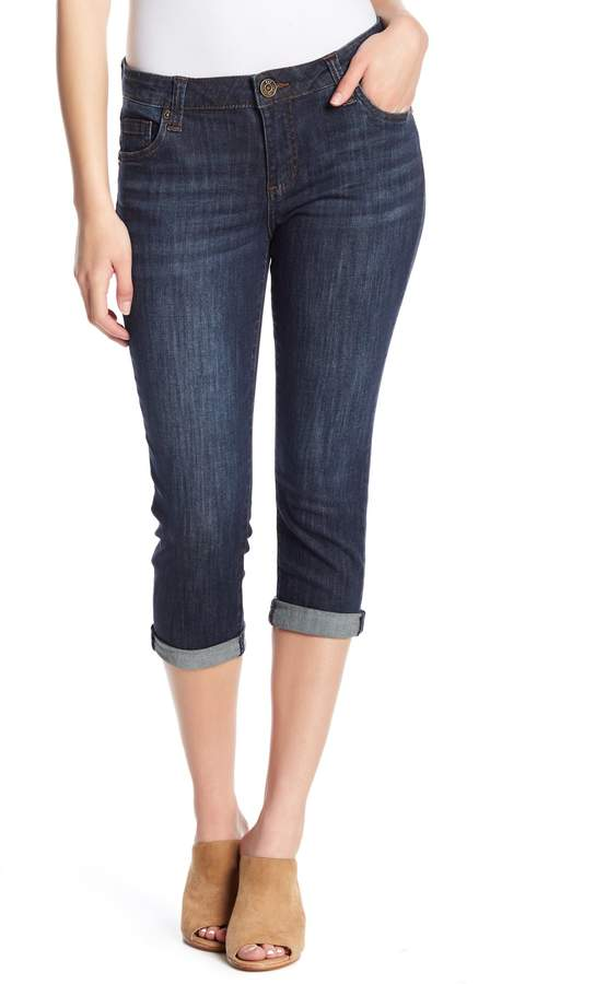 KUT from the Kloth Crop Slim Boyfriend (Petite)