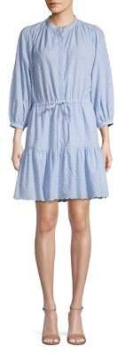 Joie Textured Cotton Shirtdress