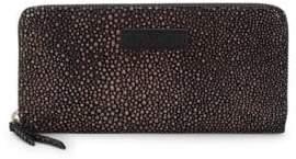 Liebeskind Berlin Metallic Stingray Leather Zip-Around Wallet