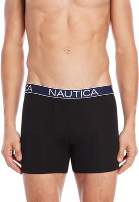 Nautica 3-Pack Stretch Boxer Briefs