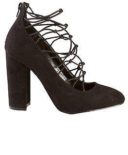 NEW Lavish Womens Heels Worship Heel Black - Shoes