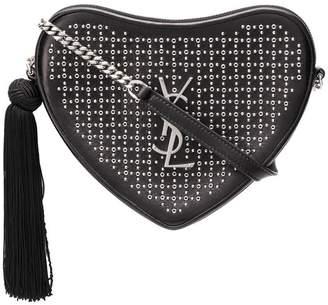 Saint Laurent Monogram heart cross body bag