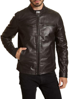 Excelled Leather Leather Midweight Motorcycle Jacket - Big and Tall