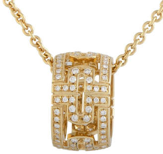 Bulgari 18K Rose Gold 0.50 Ct. Tw. Diamond Necklace