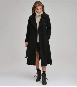 Andrew Marc Alva Wool Belted Coat