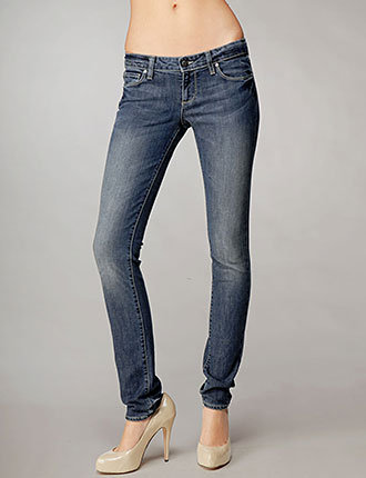 Womens Blue Heights Skinny
