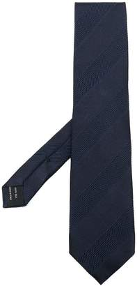 Tom Ford stripe panel tie