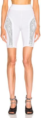 Fendi FFreedom Biker Short in White   FWRD
