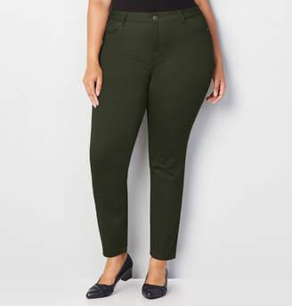 Avenue Butter Denim Skinny Jean in Olive