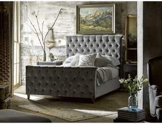 Gracie Oaks Wellison Upholstered Panel Bed
