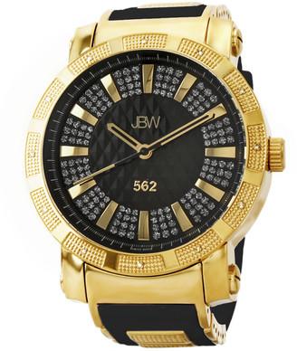 JBW Men's 562 Diamond & Crystal Watch