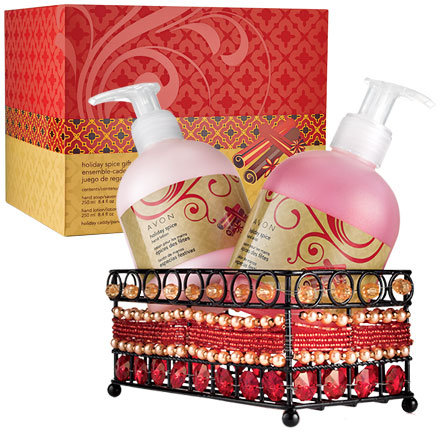 Avon Holiday Spice Hand Gift Set