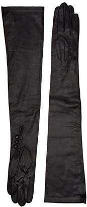 """Dents Long Leather Dress Gloves - Ladies/Womens (Size 7.0"""", )"""
