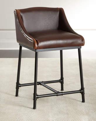 Fairfield Leather Barstool