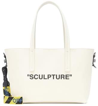 Off-White Binder Clip canvas tote bag
