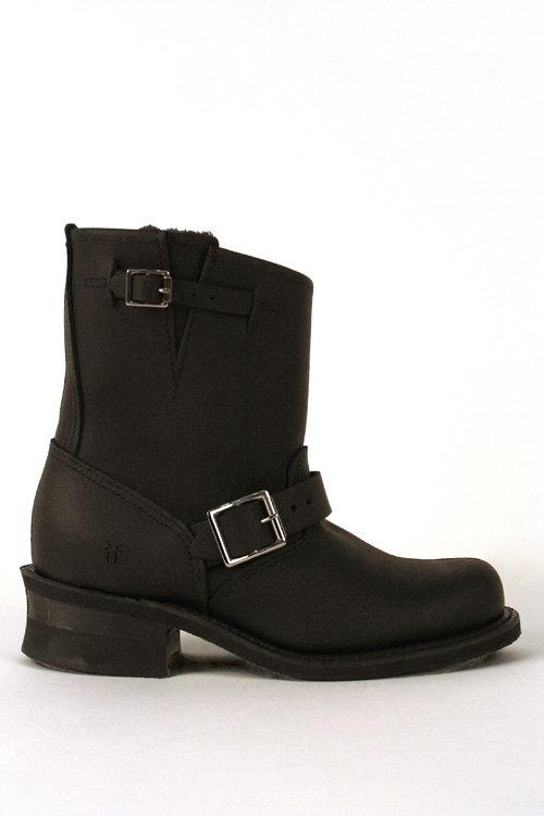 Frye Engineer 8R Leather Boot – Black