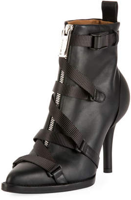 Chloé Tracy Strappy Front-Zip Ankle Boot