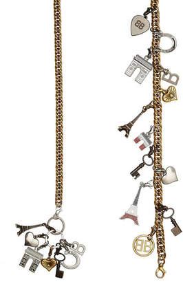 Souvenir Charms Embellished Belt