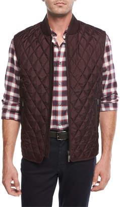 Brioni Lightweight Quilted Silk Vest