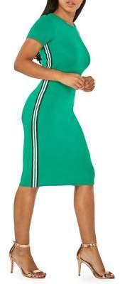 Dorothy Perkins Day Striped Bodycon Dress