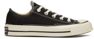 Converse Black Chuck Taylor All-Star 70 Low-Top Sneakers