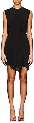 L'Agence Women's Cipriana Silk Crêpe De Chine Dress - Black