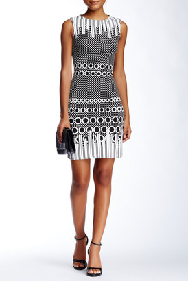 Julia Jordan Sleeveless Jacquard Dress $188 thestylecure.com